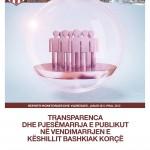 Transparenca dhe pjesemarrja e publikut ne vendimarrjen e keshillit bashkiak Korce