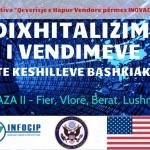 DIXHITALIZIMI I VEDIMEVE TE BASHKIVE, INFOCIP, AMBASADA AMERIKANE, FAZA II